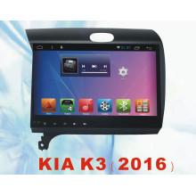 Sistema Android Navegação GPS para KIA K3 2016 com carro DVD Car Video