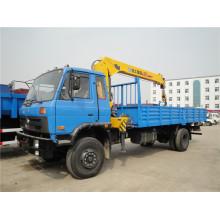 DFAC 4X2 XCMG Grúa sobre camión 7 Ton Truck Cranes