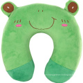 U Shape Animal Neck Pillow with Memory Foam Cooling Gel