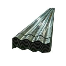Plaque de tôle d'acier ondulée galvanisée Gi ondulée