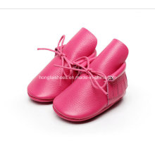 Europa Leder Fransen Baby Schuhe 02