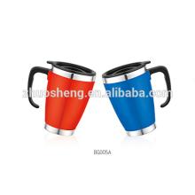 Double Wall Travel Mug,Thermos Mug,Coffee Mug,Plastic Mug