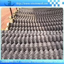 Hexagonal galvanizado cadena de acero inoxidable Link Fence