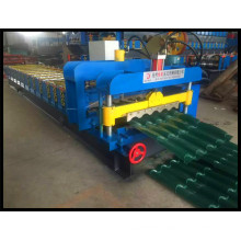 Step Roof Tile Glazed Tile Roll Forming Machinery Made in China