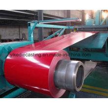 Bobina de aço galvanizada prepainted principal para a folha da telhadura