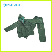 Водонепроницаемый ПВХ полиэстер мужской костюм дождь РПП-016