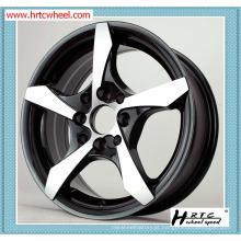 Garantia de qualidade 100% rodas de liga de carro de 12 polegadas de vários estilos de bordas