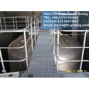 GI-beschichteten Treppe von Stahlvergitterung
