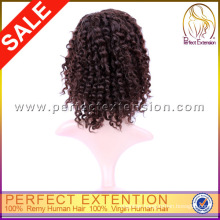 Fashionable Indian Afro Kinky Curl Human Hair Beyonce Lace Front Wig