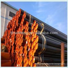 3PE coated 28 inch seamless steel tube