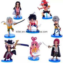 Personalizado de plástico de acción de ventas de figuras de Navidad de los niños de juguete