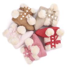 5 Цвет Детские Зимние Сапоги Мода Линт Мягкой Подошвой Детская Обувь