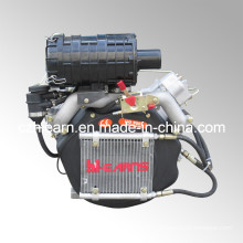 15HP Air-Cooled Two Cylinder Diesel Engine (2V86F)