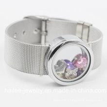 Bracelet à bijoux en acier inoxydable à la mode avec pendentif Locket