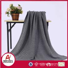Cobertor de tecido acrílico têxtil para presente