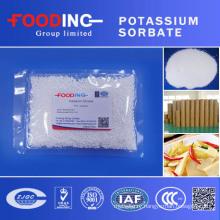 High Quality Factory Price Food Preservative Fccv Granular Potassium Sorbate Price E202