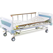 Medical Equipment Movable Two-Fuction Full-Fowler Hospital Bed