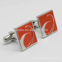Kundenspezifisches Manschettenknopf-Logo mit Ihrem Entwurf