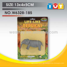 Gute Qualität Kind Mini-Gummi-Elefanten Spielzeug in China gemacht