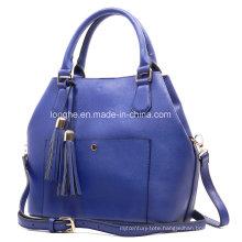 Fashion PU Tassel Bag in Bag Ladies Shell Bag (ZXS0045)