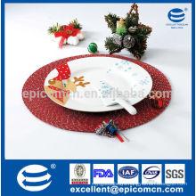 Christmas Porcelain plate and knife for cake set