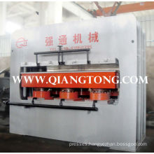 YX700 ~900T single side laminating hot press machine for furniture boards