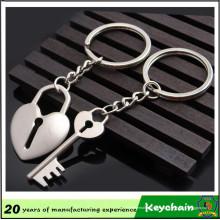 Llavero popular llave y cerradura llavero