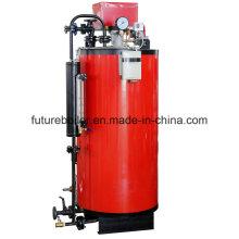 Caldera de vapor encendida del aceite de Watertube (gas) vertical para la máquina de dibujo