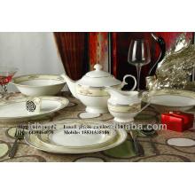 Açúcar cremoso marcas louça cerâmica porcelana jantar jogo oval prato