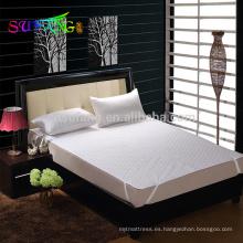 Hotel lino / China fábrica de venta caliente protector de colchón a prueba de agua