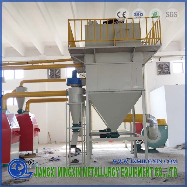 Dry Process Line for Waste PCB Recycling