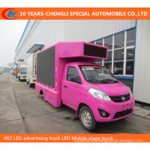 4X2 LED Advertising Truck LED Mobile Stage Truck
