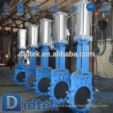Vanne de porte pneumatique de qualité fiable Didtek