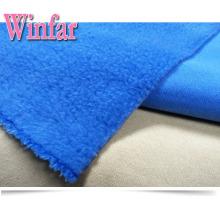 Knit Plush 100% Polyester Polar Fleece Fabric