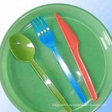 Moldea productos de plástico en la cocina / Vajilla de plástico moldea de cocina
