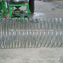 Spiral Razor Blade Barbed Wire