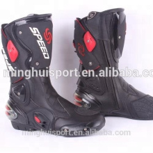 Resistência ao deslizamento de sapatos escalada exercício extenuante Moto engrenagem do esporte motocicleta botas de montaria touring botas com várias opções