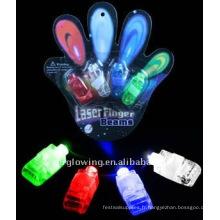 lumières magiques au doigt