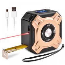 40m and 5m 2 in 1 Laser digital measuring tape laser distance meter