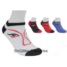 Customized Cheap Men Women Polyester Ankle Socks