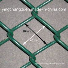 PVC Coated Chain Link Fence/Temporary Chain Link Fence/Sports Fence