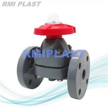 Plastic Diaphragm Valve CPVC for Chlor Alkali Industry