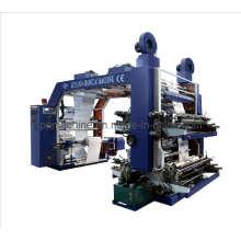 Machine d'impression flexographique à grande vitesse à 4 couleurs (CE)