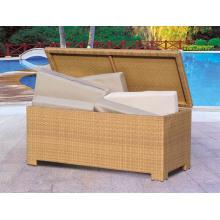 Outdoor Rattan Storage Cushion Box