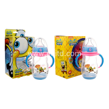 2in1 Plastic Milk Drink Bottle Feeding-bottle