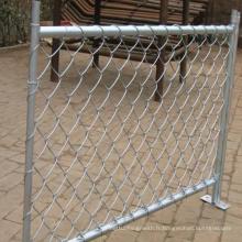 Clôture de liaison en chaîne galvanisée / prix de clôture temporaire