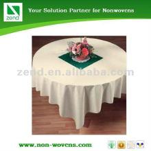 Colth não-tecido descartável de alta qualidade da tabela feito em Gaungdong