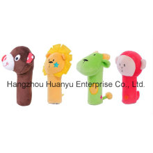 New Design Stuffed Toy of Bb Hand Rattle