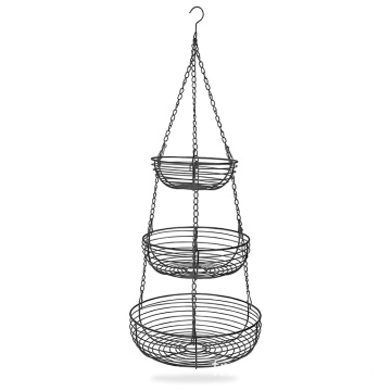 Sorbus 3-Tier Countertop Fruit Basket Holder Decorative Bowl Stand Perfect For Fruit Vegetables Snacks Household Items