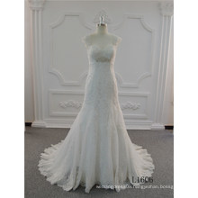 New Style Mermaid Wedding Dress 2017 Trumpet Wedding Dress Sweetheart Ivory Bridal Gown